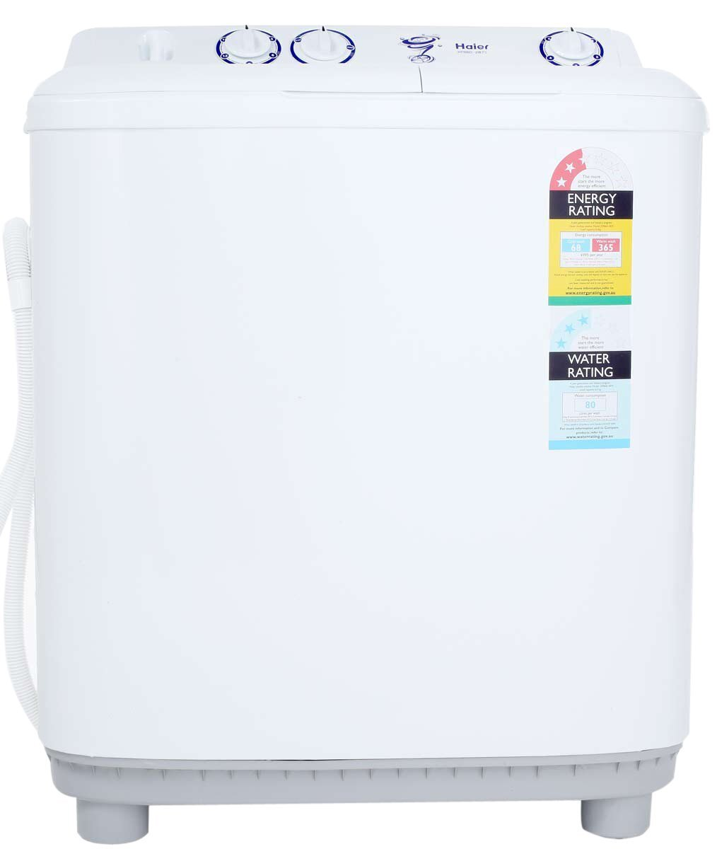 4: One of the Easiest to Use: Haier 6KG Twin Tub Top Load Washer