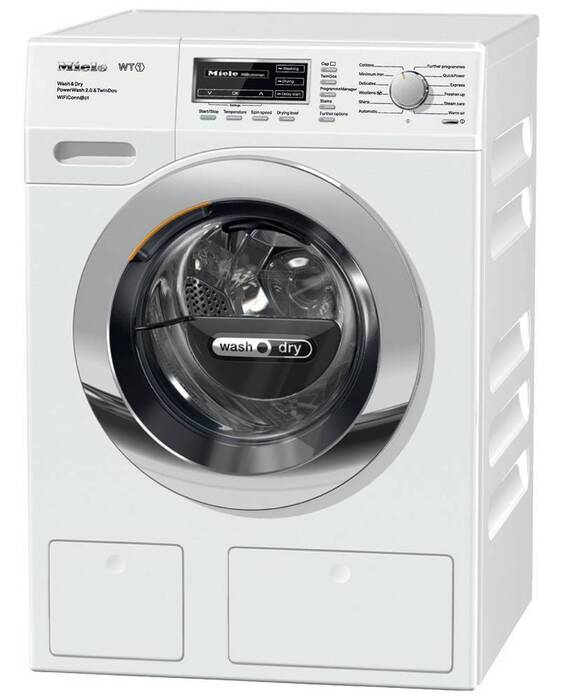 4: The Best Washer Dryer Combo: Miele WTH130