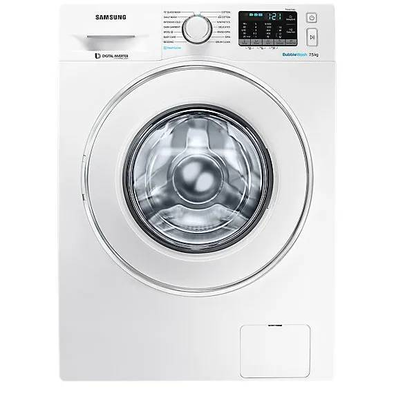 4: The Most Water And Energy Efficient: Samsung BubbleWash Steam WW75J54E0IW